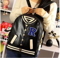 baseball uniform designer - 2016 designer backpacks women baseball uniform clothes backpack bags men and women fashion Students bag