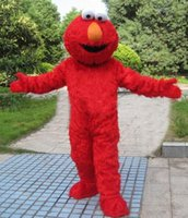 adult elmo costume - 2016 New hot sale DHigh quality Adult adults elmo mascot costume sales high quality Long Fur Elmo Mascot Costume