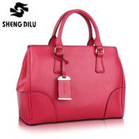 Wholesale women genuine leather handbags EUROPEAN STYLE vintage Plain women shoulder bag handbag women messenger bags