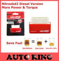 Nuovo! Aumentare Hidden Power Nitro OBD2 ChipTuning Plug And Drive NitroOBD2 Centralina tuning per il diesel Auto Facile Usa