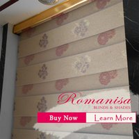 Wholesale Double layer durable window roller blinds roman blinds jacquard zebra blinds shades and shutters for home decoration
