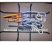 NFL - England Patriots Handcrafted Real Neon Glass Tube Beer Bar Neon Light Sign X15