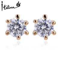 Wholesale Italina new Austrian crystal earrings earrings elegant women STELLUX high quality zirconia girl Joias RG85336