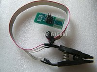 Wholesale SOIC8 SOP8 Test Clip For EEPROM CXX CXX CXX in circuit programming on USB Programmer TL866CS TL866A EZP2010