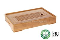 bamboo tray tables - Chinese Bamboo Gongfu Tea Table Serving Tray quot quot
