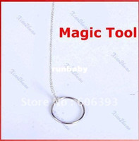 Wholesale C18 Simple Magic Trick Toy Tool Chain Ring For Kid Children