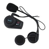 Wholesale M1035BT interphone Bluetooth Motorbike Motorcycle helmet intercom Headset M Hot Selling