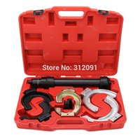 Wholesale US STOCK America Local Shipping Multi function Interchangeable Fork Strut Coil Spring Compressor Set