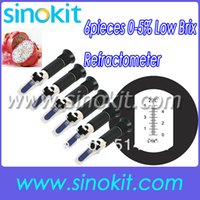 Wholesale Wholesales pieces per Low Brix Hand held Refractometer RHB ATC