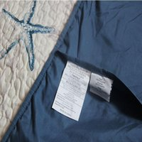 american quilting - KOSMOS American style four seasons quilt blue quilted bedspread cotton patchwork quilting King size Starfish pattern