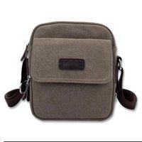 Men awesome messenger bag - Gorgeous Men s Small Brown Vintage Canvas Shoulder Fanny Bag Messenger Awesome