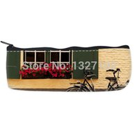bicycle shopping bag - Personality Old Bicycle Pencil Case Bag Shop Treasure