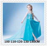 Cheap TuTu frozen dress Best Summer as pic Frozen Lace Gauze Dress