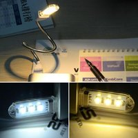 Yes Dry Battery Others Wholesale-1 pc USB LED Book lights 5730 Lamps Camping lamp For PC Laptops Computer Notebook Mobile Power Charger Reading Bulb Night light