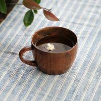 Wholesale Wood Teacup Capacity ml Caliber cm Height cm Burlywood Jujube Wood Teacup Elegant Simplicity Style MOQ Piece