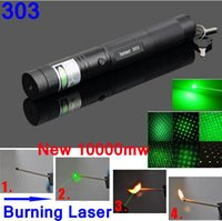 Wholesale 303 green laser pointer green laser pointer green laser stars Flashlight blue pointer pens support and batteries a724