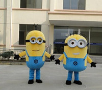 Wholesale 2015 Hot Brand New Special Minions Mascot Costume despicable me Character