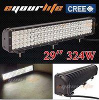 Wholesale Eyourlife W CREE LED Work Light Bar Flood Spot inch led bar W light bar W W W