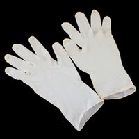 anti static latex gloves - One Pair Beauty Disposable Stretchy Anti Static Latex Gloves Sterile Protection