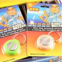 Wholesale DDA3503 Hot Electric Shock Hand Buzzer Practical Joke Gag Halloween Christmas Gift Jokes Funny Toys Halloween Kids Toys Prank Toys