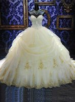 Wholesale Organza White Quinceanera Dresses New Arrival Hot Sale Dress Prom Gowns Sweetheart Neck Sleeveless Backless Vestido de Quinceanera