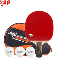 Wholesale single table tennis ball racket ppq table tennis ball rackets