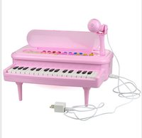 Wholesale New Arrival Key Kids Multifunction Electronic Music Keyboard Small Size Baby Electric Piano Toys