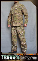 battle dress uniforms - All Win Trigger OCP Multicam Uniforms Hot Weather Battle Dress Uniform BDU Clothing Set SKU12050234