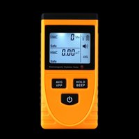 Wholesale Professional Digital LCD Electromagnetic Radiation Detector Meter Dosimeter Tester Counter Indoor And Outdoor Used