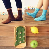 bear sausage - men s socks women s sock Department of animal lovers adorable socks sausage lion kangaroo bat fox Tactic bear deer house lizard