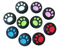 Wholesale For PS4 Joystick Caps Silicone Case New Paw Silicone Key Protector Thumbsticker Dualshock Thumb Grips for Xbox One Xbox360 PS3