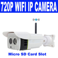 array design - 2015 hot P MP ip Camera Wireless Professional design HD Network Array IR Bullet WIFI outdoor Support Micro sd Tf card free dhl