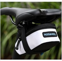 Wholesale ROSWHEEL Fixed Gear Fixie MTB Road MTB Bike Bicycle Cycling Saddle Back Seat Seatpost Tail Pouch Reflective Bag