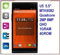 Wholesale Elephone U5 U5S inch china cheap phone MTK6582 Quad core Android phone GPS G Mobile Phone u5