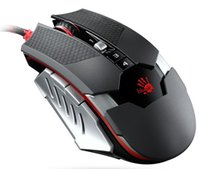 Wholesale 2015 new high quality Bloody WINNER T5 gaming mouse m wired optical switch mouse Optic Intelligent cores DPI CPI game mouse