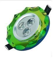 Wholesale W LED CRYSTAL SPOTLIGHT LED BULBS