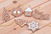 Wholesale 11 Animal Snowflake Biscuits CHRISTMAS CHARMS Hand Made Polymer Clay Art