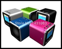 speaker new and brand - Brand New and High Quality New A08 Mini Speaker Support TF card U disk FM radio With Screen Music Player