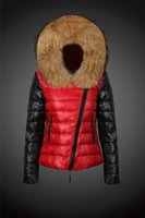 Wholesale Hot saling Women Jacket Famous Brand Duck Down Coat Winter Parka New Arrived Silm Clothes Big Fur high Quality