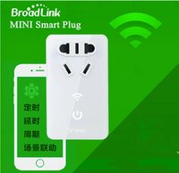 Wholesale Mini Smart Wifi Plug Broadlink SP WiFi Remote Control Socket for ios s C Android Cellphone Chinese Plug version