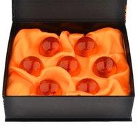 Wholesale 7 Acrylic Magical Dragon Ball Dia Inch Replica Crystal Glass Type Heavy Ball Set With Gift Box Generic