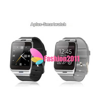 android brand watches - GEAR2 Aplus Smart Watch With touch Screen Camera Bluetooth NFC SIM GSM Phone Call U8 data sync Waterproof for Android Phone