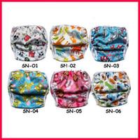 Tout en couches One Size Baby Swim Livraison gratuite 10pcs / lot Nappies de natation en tissu réutilisables pantalons de natation