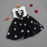 white cotton dress - 2015 Summer Girls Dresses Doublue C CC Crystal Bowknot Sleeveless Dress Tulle Ball Gown Casual Princess Dress Child Clothing K4141