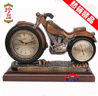 bell for motorcycle - Cheap quartz motorcycle when the living room European style garden clock mute clock fashion antique bell classical clock