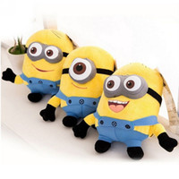 Wholesale High quality cm Despicable me plush minion pelucia toys doll Unicorn Minions Toy D eye bonecos minions