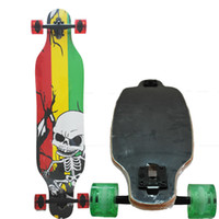 Wholesale hot selling inch longboard ply Canadian wood long board skateboard cruiser4 wheels professional longboard