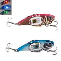 Wholesale Hot Sale High Quality Plastic Waterproof Flash LED Light Bait Fishing Lure Light Electronic Fishing Lamp