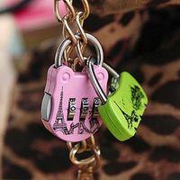 Wholesale 100PCS direct manufacturers mini suitcase combination lock Guard against theft diary combination lock