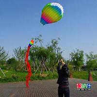 Wholesale 3D m Line Stunt Parafoil Hot Air Balloon POWER Sport Kite outdoor toy